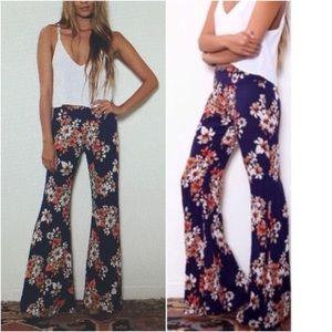 Flynn Skye • Patty Flare Floral Bell Bottom Pants